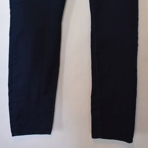 Michael Kors Jeans - Michael Kors Dark Denim Jeans with Gold Logo A2